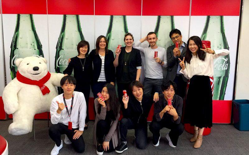 International Coca-Cola Journey corporate website launch in South Korea.