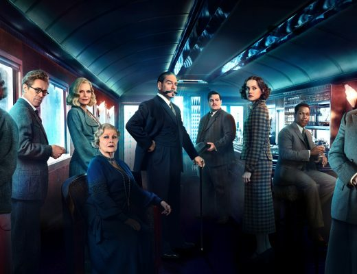 Murder On The Orient Express movie poster and film review by Matthew Hepburn