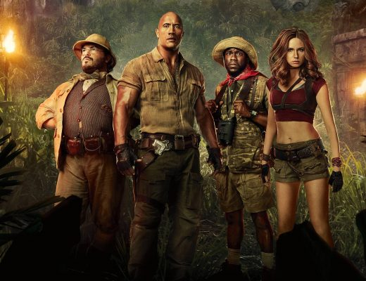Jumanji: Welcome to the Jungle Movie Post Film Review Matthew Hepburn